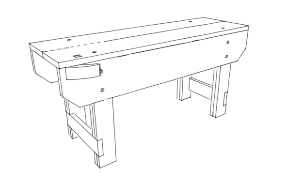 KD Nicholson Workbench